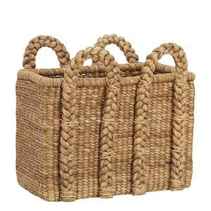 Rectangular beachcomber basket
