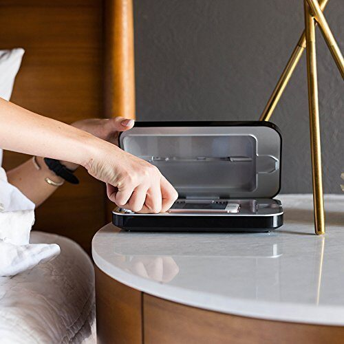 Phone soap bedside table