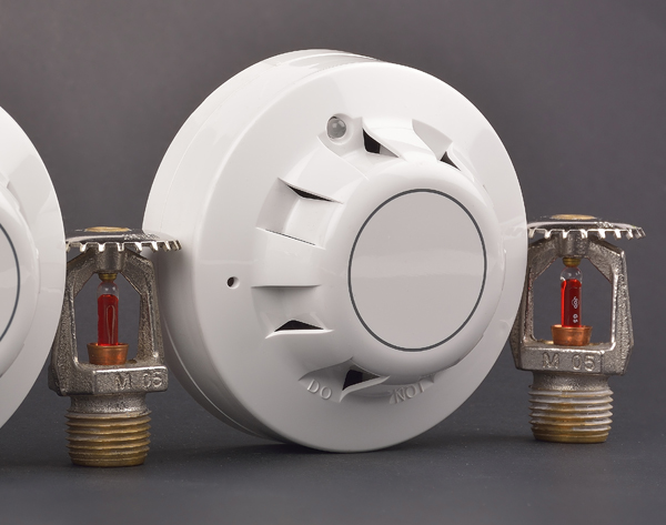 Smoke alarm and fire sprinklers used in our fire sprinkler services in Mesa, AZ