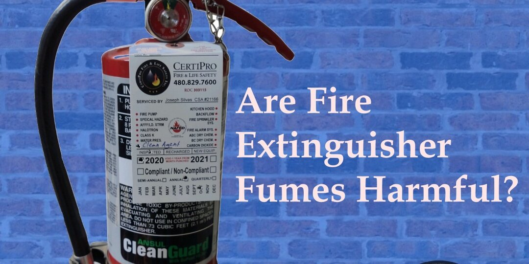 Fire Extinguisher Fumes