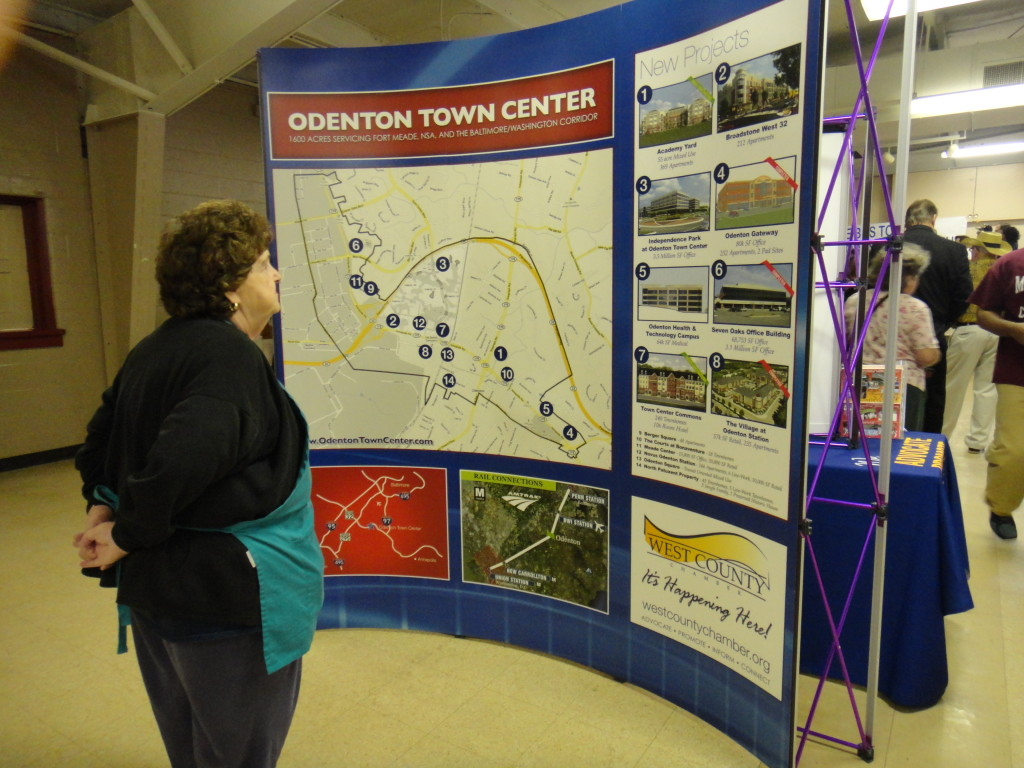 Volunteer Reading About Odenton