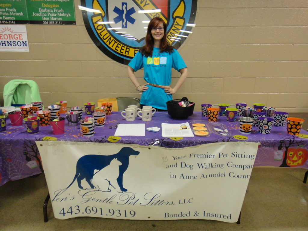Becca at Odenton Day '14