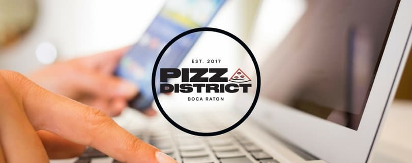 Order Online With Pizza District