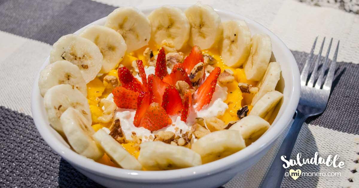 Fruta Y Queso Cottage