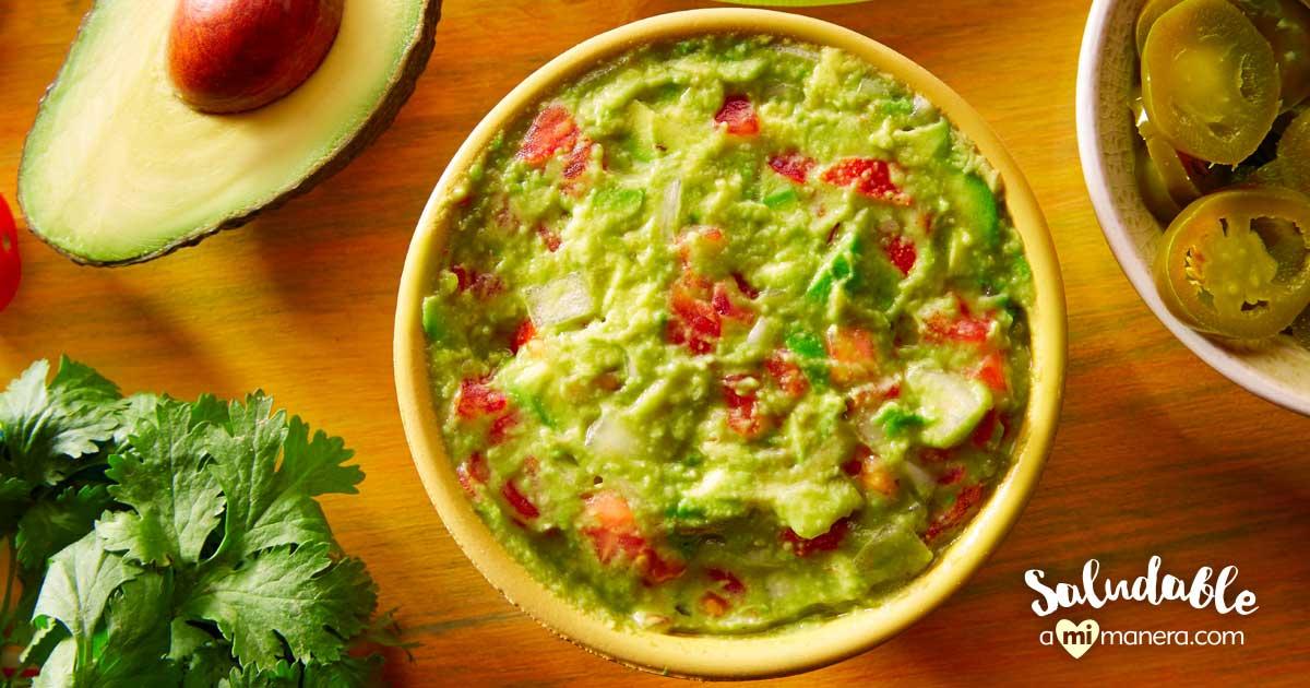 Guacamole De Yogurt Griego Sin Grasa