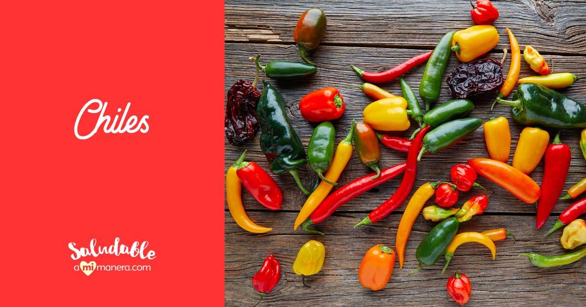 Chiles, 64 Variedades Que Existen En México Y No Sabias