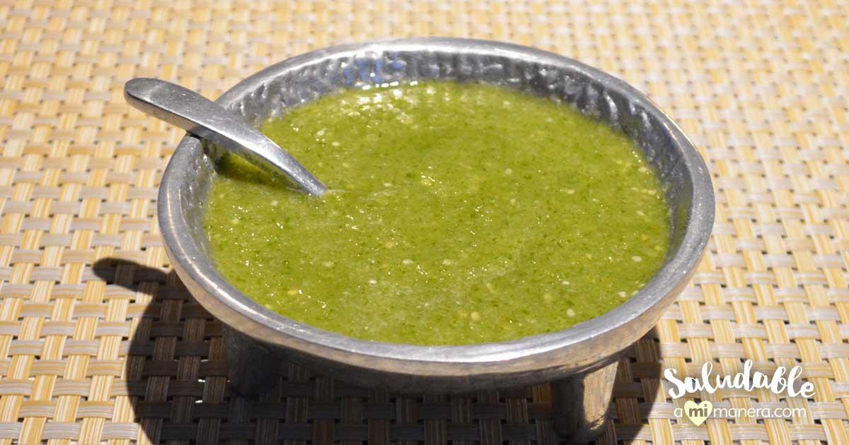 Cómo Hacer Salsa Verde De Tomatillo Y Chile Serrano Desde Cero