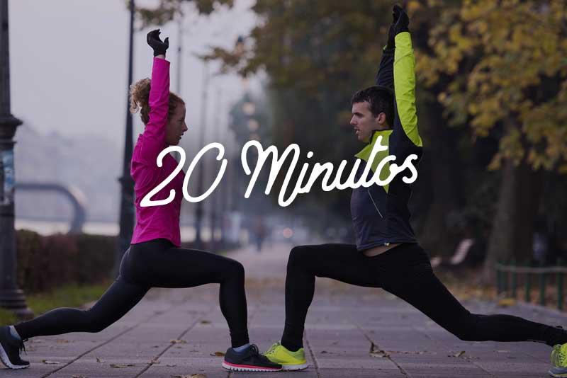 Rutina fácil para caminar 20 minutos
