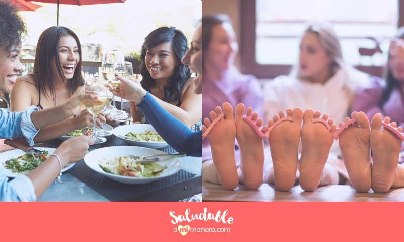 ideas fáciles para salir en una cena con amigos