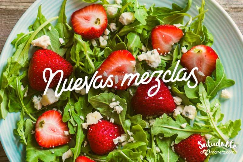 Adelgazar con el poder de las frutas y verduras nuevas mezclas
