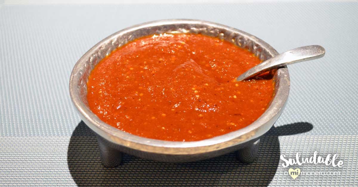 Salsa De Chile Morita Y Tomate Verde