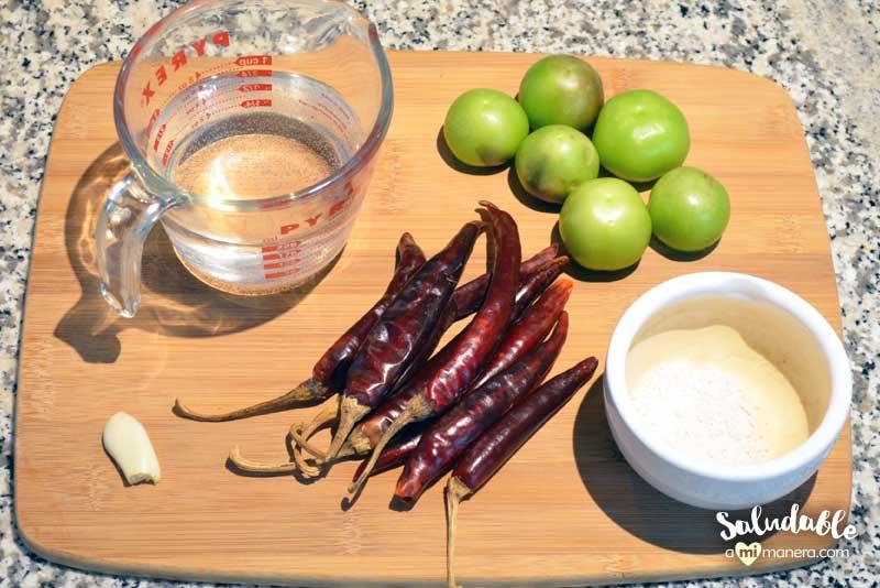 salsa ranchera ingredientes