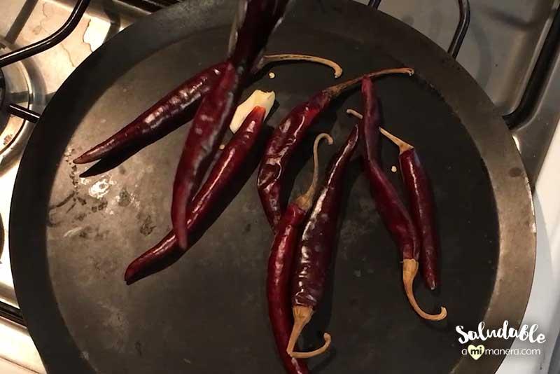 chile puya para salsa ranchera