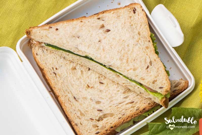 Cambia el menú de sándwiches