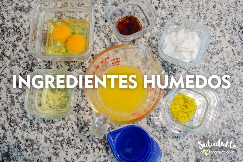 Ingredientes húmedos