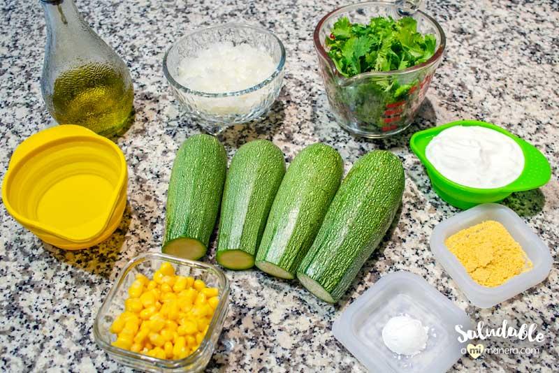 Ingredientes de la crema de cilantro saludable