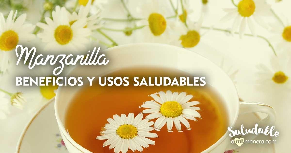 Manzanilla Beneficios Y Usos Saludables