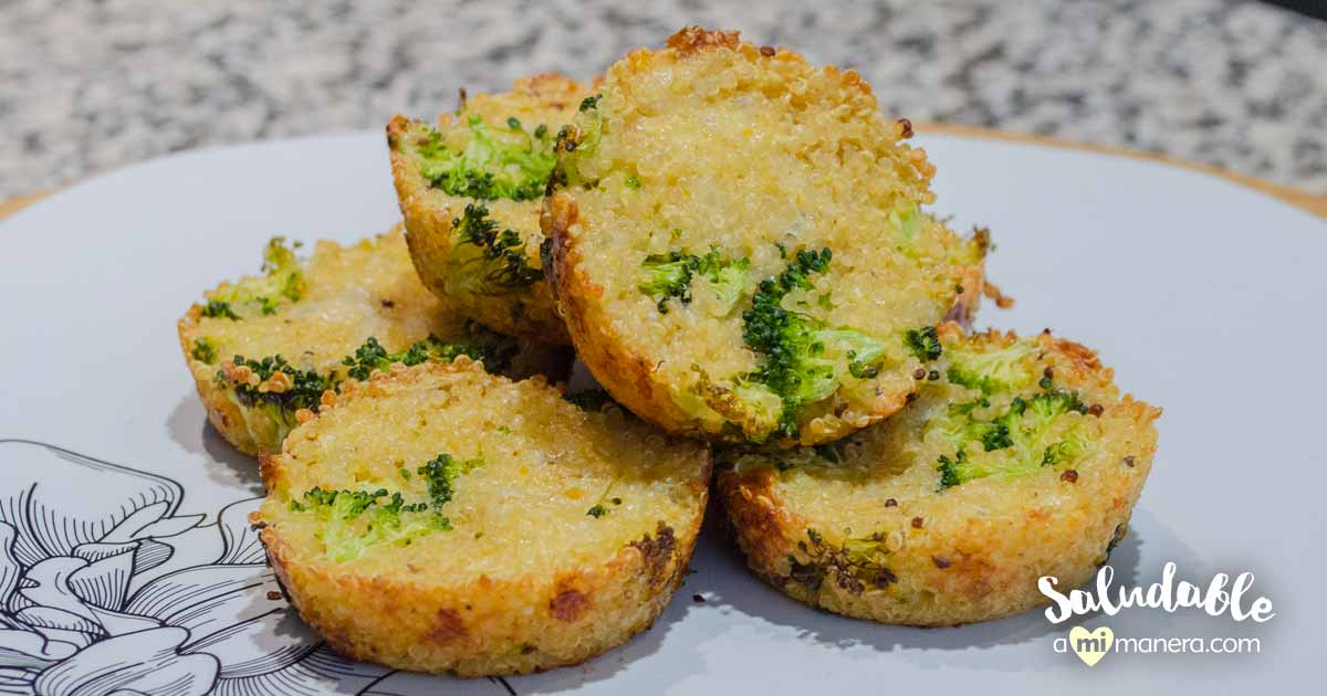 Muffins De Brócoli Y Quinoa