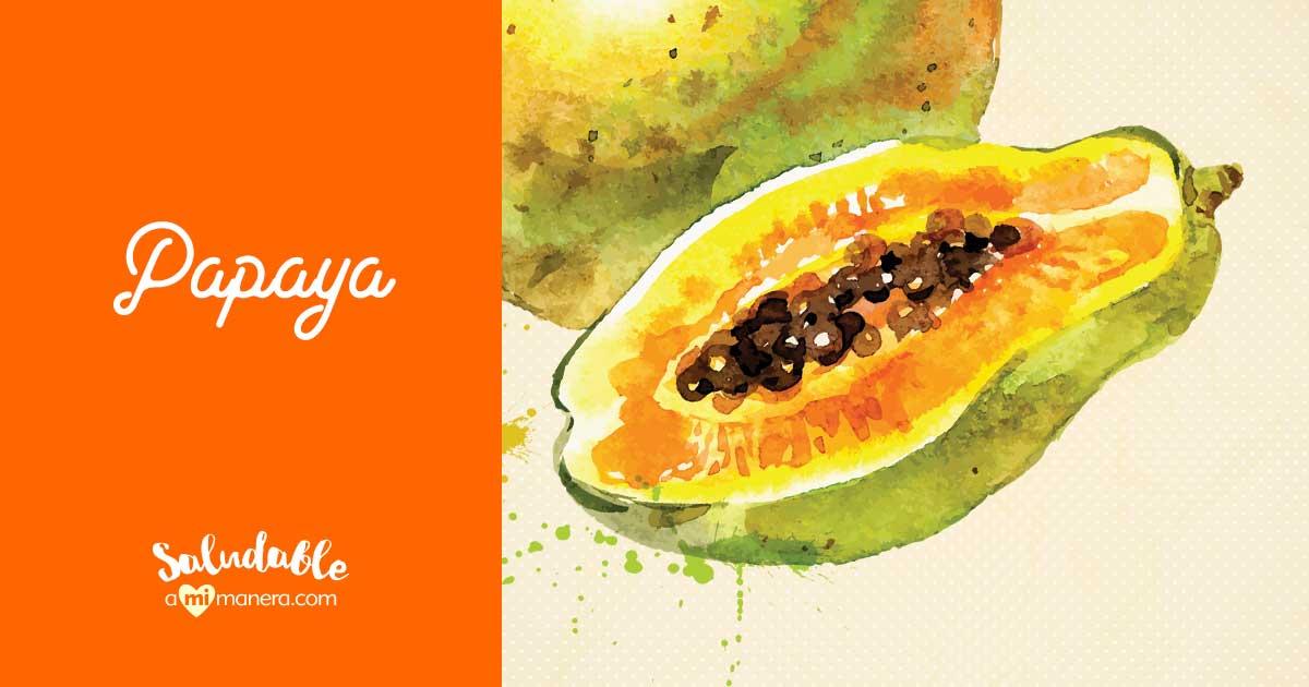 Papaya Para Bajar De Peso