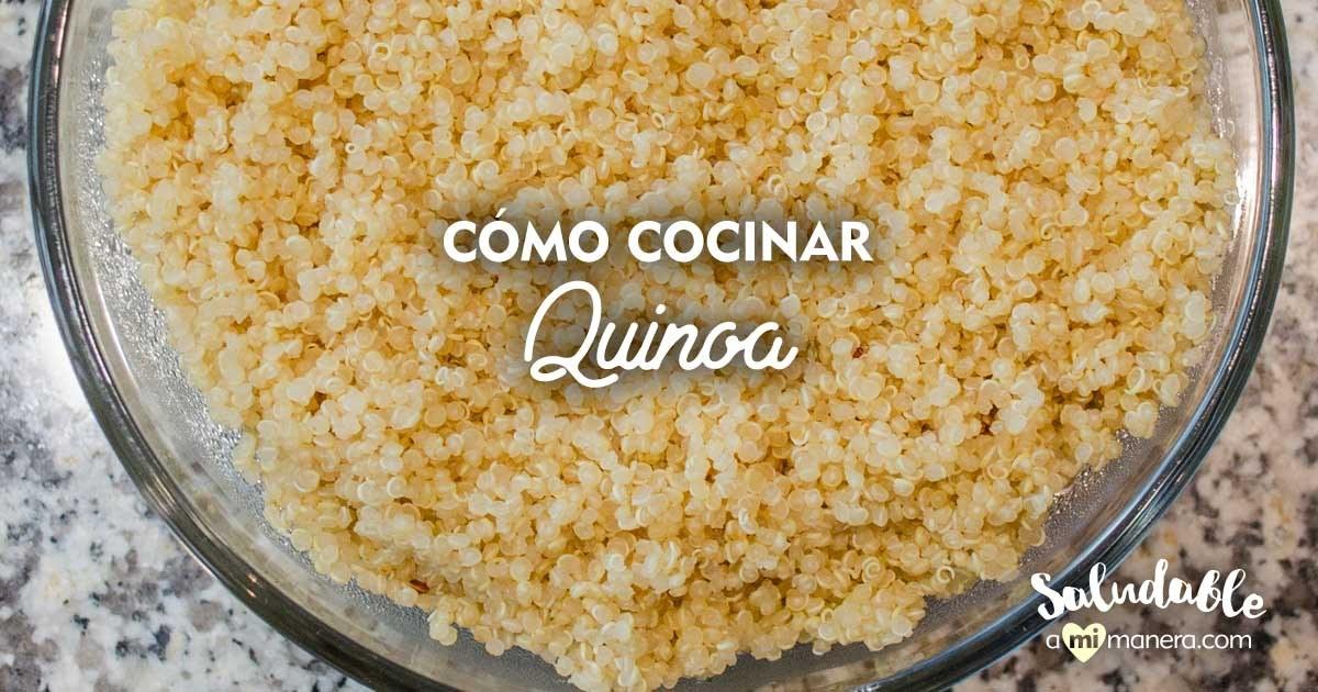 Cómo Cocinar Quinoa Fácilmente