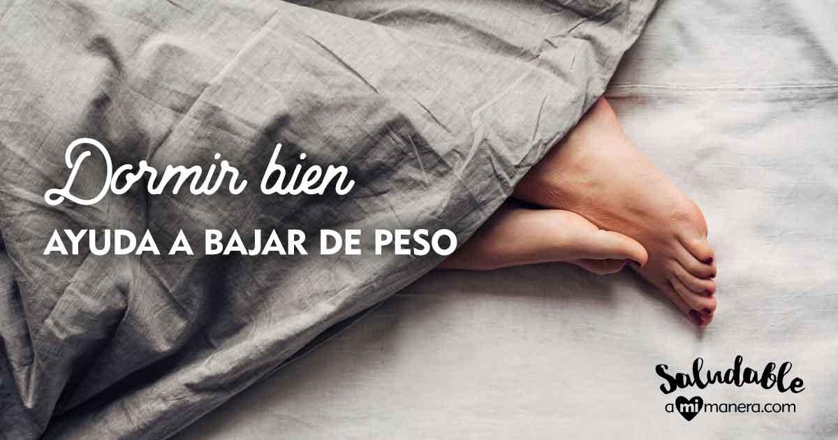 Dormir Bien Ayuda A Bajar De Peso