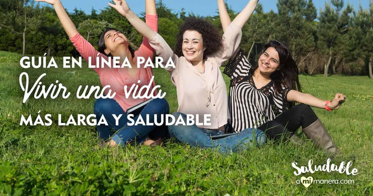 Guía En Línea Para Vivir Una Vida Más Larga Y Saludable