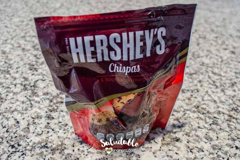 hersheys chispas de chocolate amargo