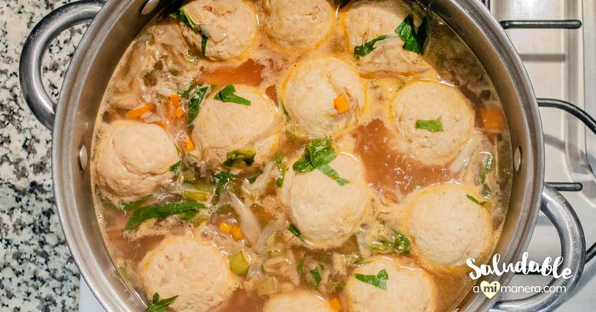 Albóndigas De Pollo Con Verduras