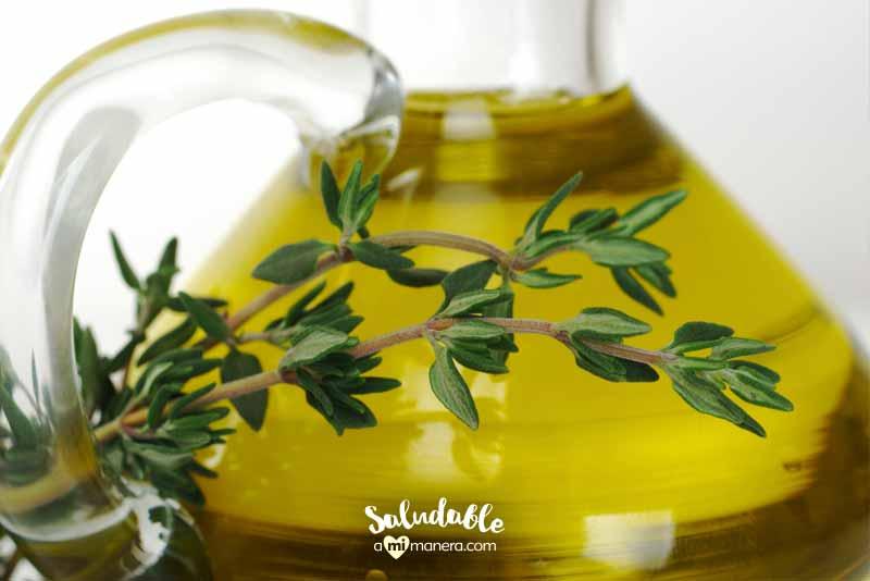 aceite de oliva ingredientes saludables