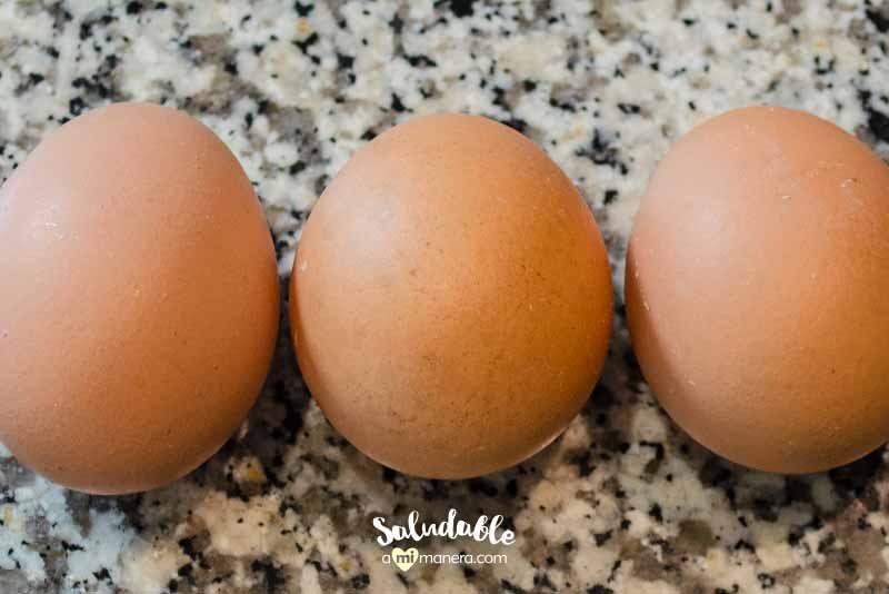 Huevo ingredientes saludables