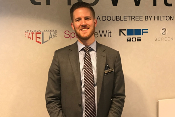 Chris Styskal, Guest Relations Manager at theWit Hotel