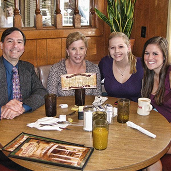 A Family enjoying 'Ol South Pancake House