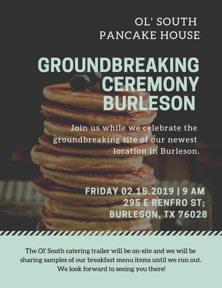 Burleson Ground Breaking Ceremony
