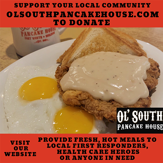 Donate a meal from Ol' South Pancake House