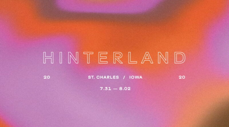 Hinterland Festival cancelled