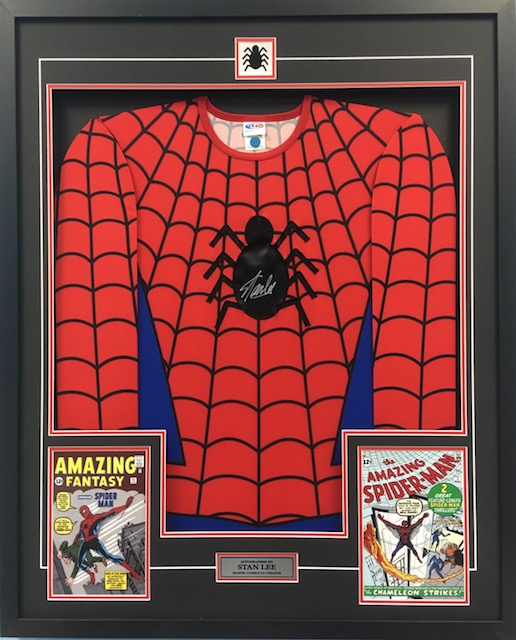 spiderman jersey frame