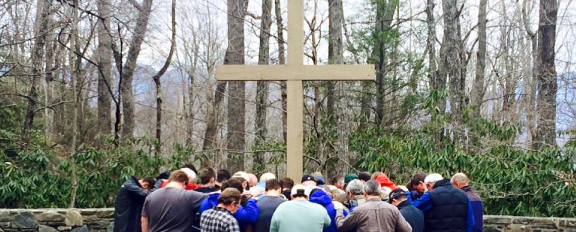 LBC Men Praying