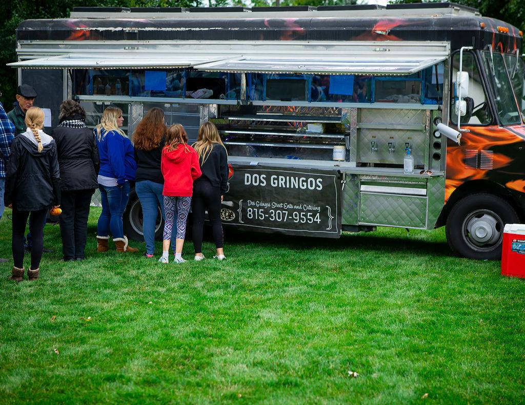 delicious food from the food truck