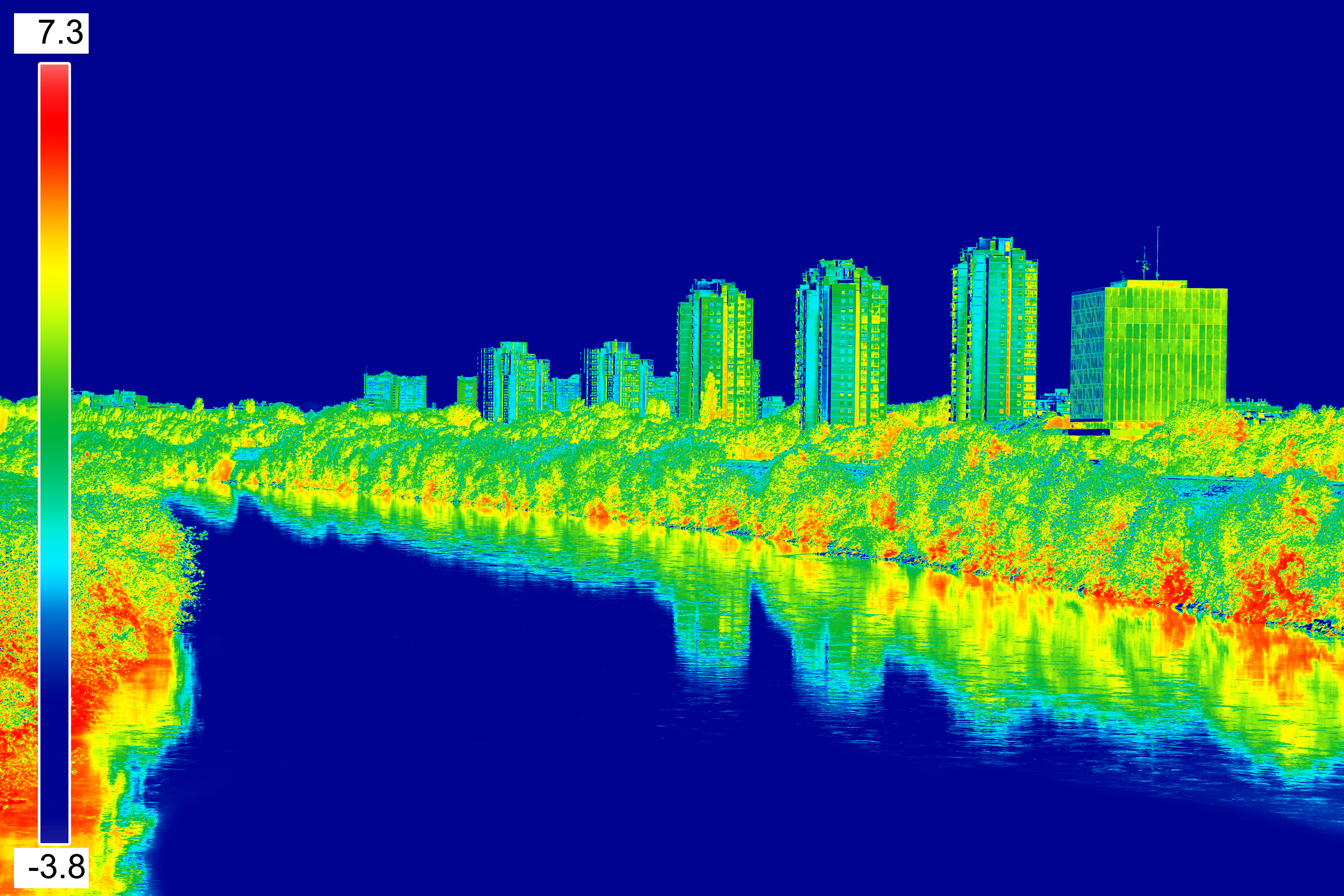 Heat Infrared Thermal Image Camera InspectionTechnology Building Engineering Engineer Archetype Architect Architecture