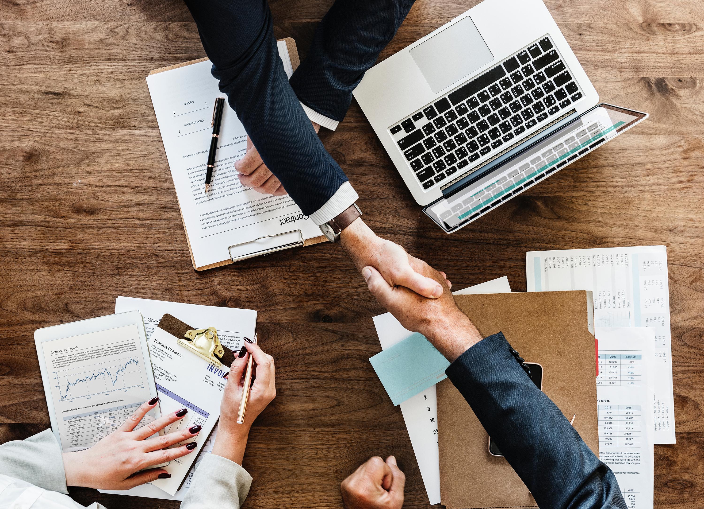 Business Meeting Hand Shake