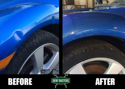 blue truck before after