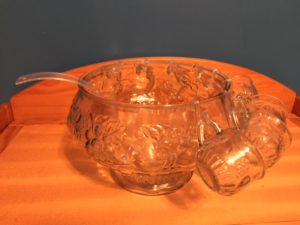 8.5qt Punch Bowl set