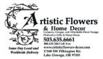 Artistic Flowers & Home Decor