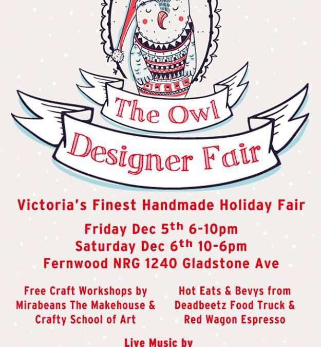 We'll Be at Victoria's OWL Designer Fair!