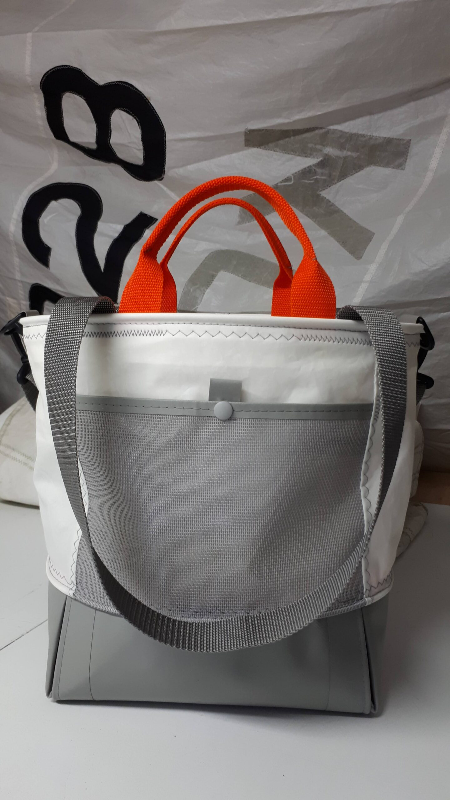 marina bag - reverse