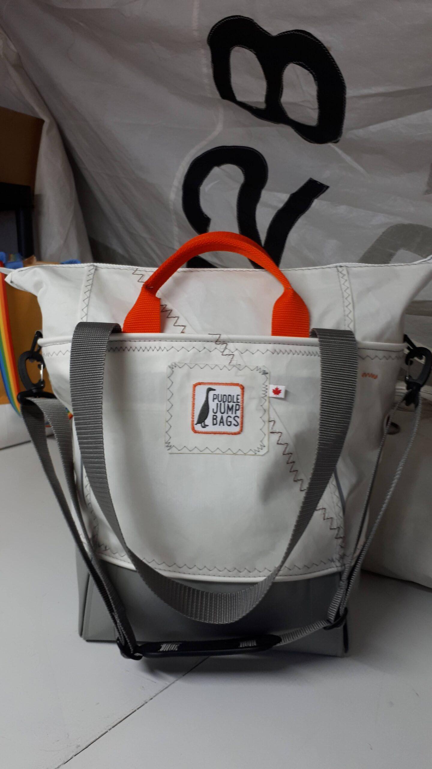 marina bag - zipped