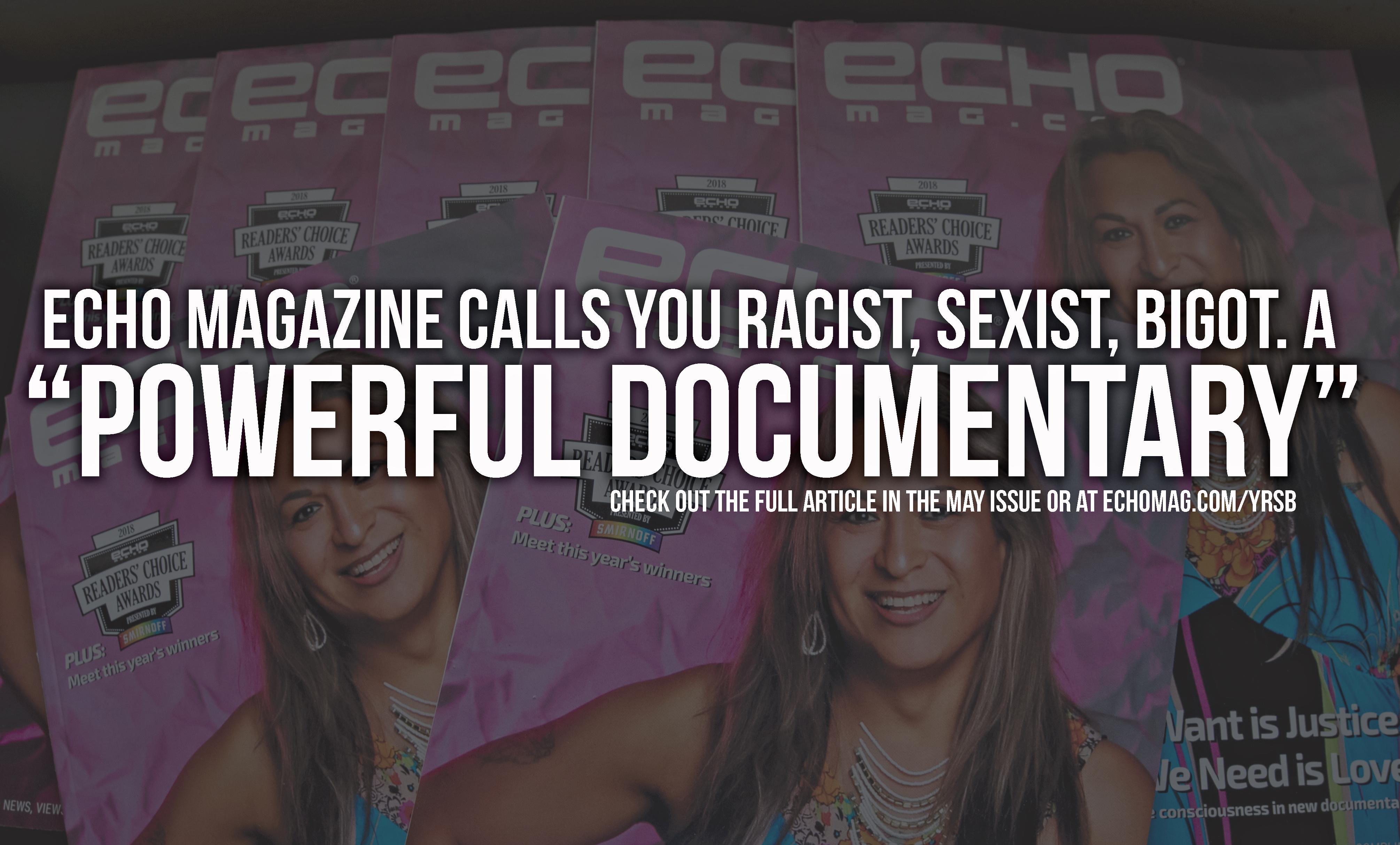 Echo Magazine Quote