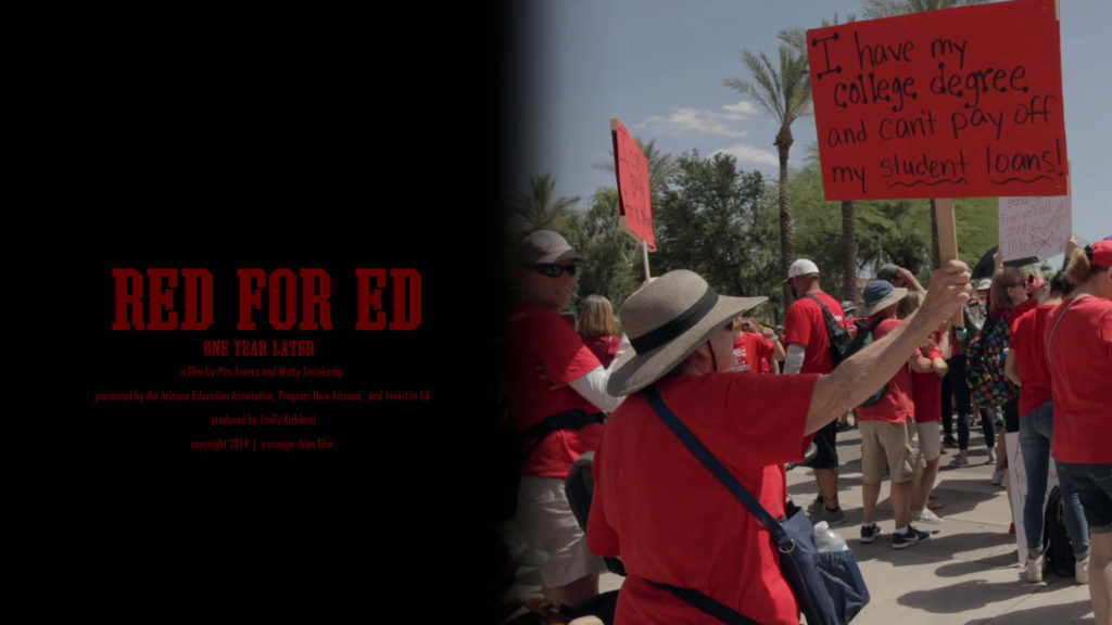 Red For Ed, 1 Year Later