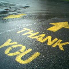 Agradecer es la clave