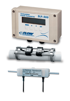 Flow Technology's ultrasonic flowmeters for inventory control in food plants